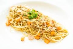 Tuna Spaghetti Foto de archivo