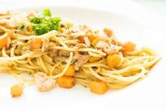 Tuna Spaghetti Imagenes de archivo
