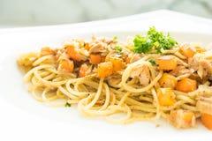 Tuna Spaghetti Imagen de archivo