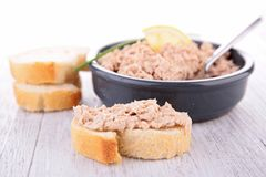 Tuna spread Royalty Free Stock Photo