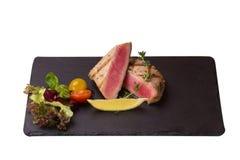 Tuna Steak Fotografía de archivo libre de regalías