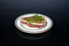 Tuna Steak Photographie stock libre de droits