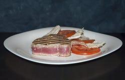 Tuna Steak Royalty-vrije Stock Foto's