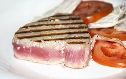 Tuna Steak Royalty-vrije Stock Fotografie