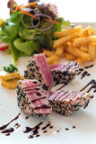 Tuna Steak Immagini Stock Libere da Diritti