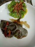 Tuna Steak fotografia de stock royalty free
