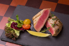 Tuna steak Royalty Free Stock Photography