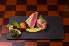 Tuna steak Stock Photos
