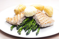 Tuna steak Stock Image