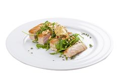 Tuna Steak royalty-vrije stock afbeelding