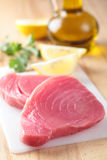 Tuna steaks Royalty Free Stock Photos