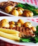 Tuna steaks Royalty Free Stock Photography