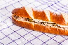 Tuna sub sandwich Stock Photography