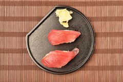 Tuna sushi - japanese food Stock Photography
