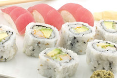 Tuna Sushi California Roll Stock Image