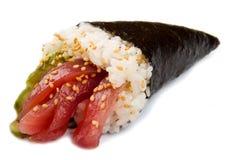 Tuna Sushi Cone Royalty Free Stock Image