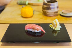 Tuna Sushi fresh japan food Royalty Free Stock Photos