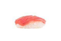 Tuna sushi isolated on white Stock Images