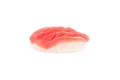 Tuna sushi isolated on white Stock Photography