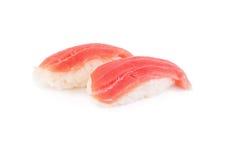 Tuna sushi isolated on white Stock Image