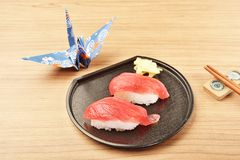 Tuna sushi - japanese food Stock Photo