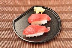 Tuna sushi - japanese food Stock Images