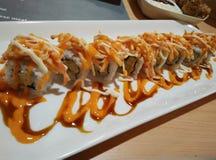 Tuna Sushi Mentai dall'Indonesia immagini stock