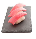 Tuna sushi nigiri Royalty Free Stock Images