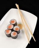Tuna sushi rolls. Royalty Free Stock Photography