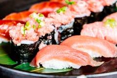 Tuna sushi Stock Images