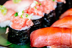 Tuna sushi Royalty Free Stock Images