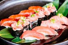 Tuna sushi Stock Photos