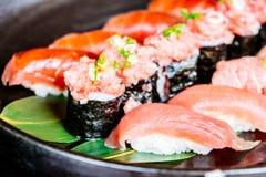 Tuna sushi Royalty Free Stock Photos