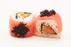Tuna Sushi Spring Rolls Royalty Free Stock Photo