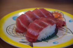 Tuna sushi Royalty Free Stock Photo