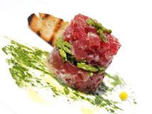 Tuna tartar Royalty Free Stock Photography
