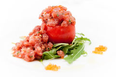 Tuna tartar Royalty Free Stock Photos