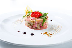 Tuna tartar Royalty Free Stock Photo