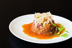 Tuna tartar Royalty Free Stock Images