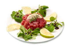 Tuna tartare Royalty Free Stock Photography