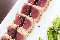 Tuna tataki Royalty Free Stock Photography