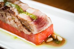 Tuna tataki Stock Photography