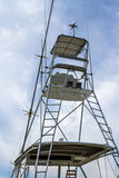 Tuna Tower van Sport Vissersboot Stock Fotografie