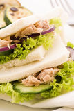 Tuna Tramezzini Royalty Free Stock Photography