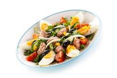 Tuna and vegetable salad Stock Image
