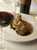 Tuna and wine Royalty Free Stock Image