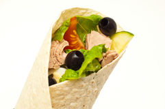 Tuna wrap Royalty Free Stock Photography