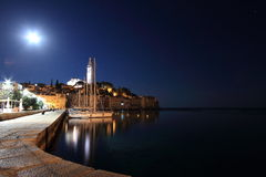 Tunderstorms in Rovinj Royalty Free Stock Image
