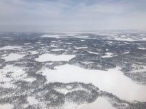 Tundra ártica fotografía de archivo