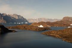Tundra ártica - som de Scoresby - Gronelândia Fotografia de Stock